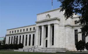 A view shows the Federal Reserve building on the day it is scheduled to release minutes of the Federal Open Market Committee from August 1, 2012, in Washington August 22, 2012. Credit: Reuters/Larry Downing